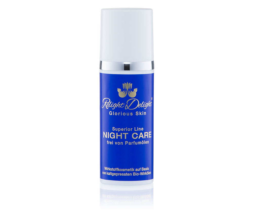 Relight Delight Glorious Skin - Superior Line - Night Care - frei von Parfümölen